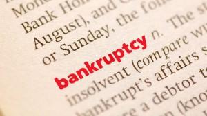 Bankruptcy Definitionface