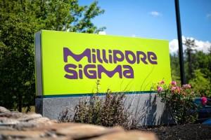 Millipore Sign
