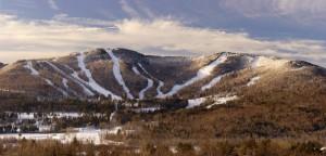 Ragged Mountain Ski Resort Danbury, Nh Usa