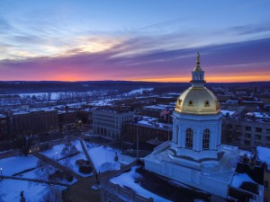 Sunrise Over The Nh State House