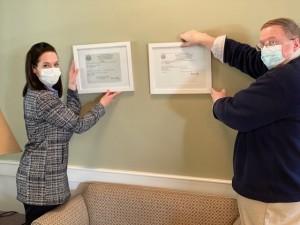 Renee Eldon Hanging State Certificates