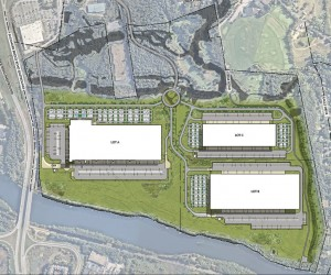Hudson Logistics Center Site Plan 1024x852