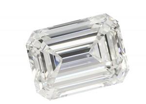 Emerald Cut Lab Grown Diamond