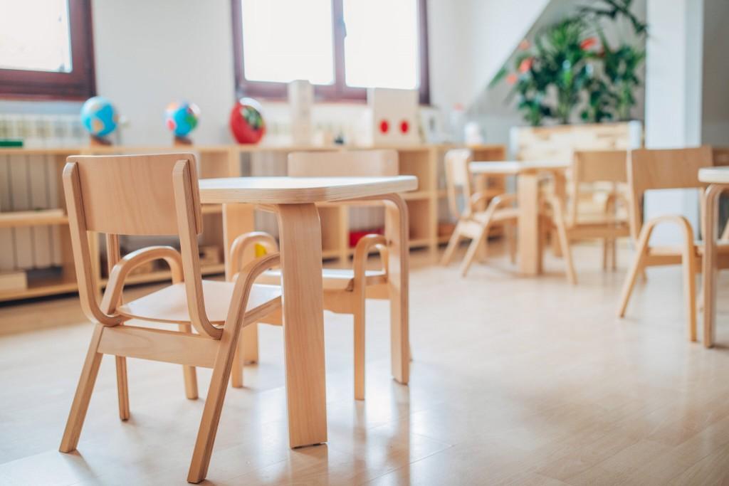 Modern Preschool Classroom